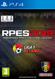 RPES2019 PS4 - Liga I în Pro Evolution Soccer 2019