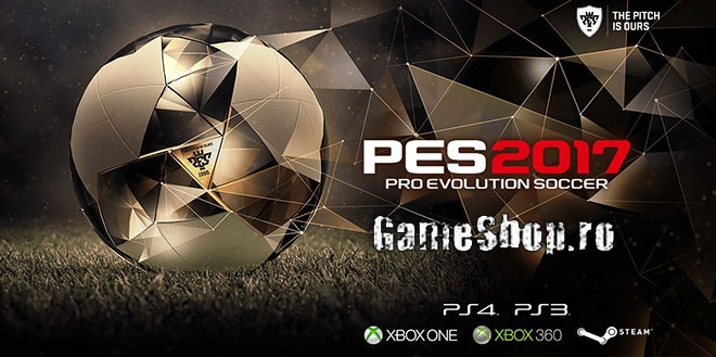 PESRomania și GameShop îți aduc Pro Evolution Soccer 2017