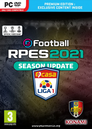 RPES2021 PC - Liga I în eFootball Pro Evolution Soccer 2021