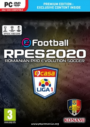 RPES2020 PC - Liga I în eFootball Pro Evolution Soccer 2020